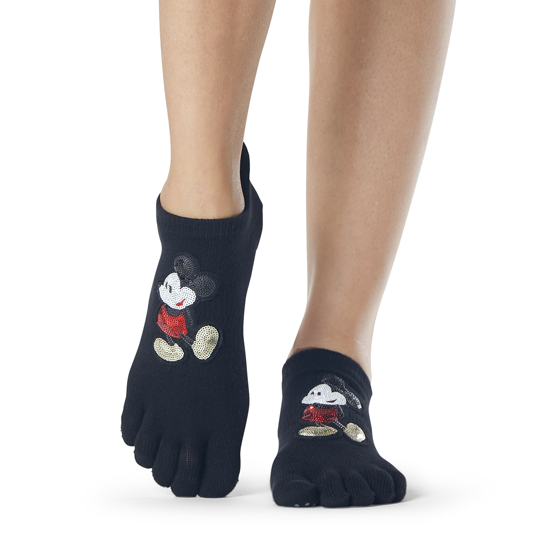 Disney 한정판 ToeSox Grip F/T Low Rise Classic Mickey